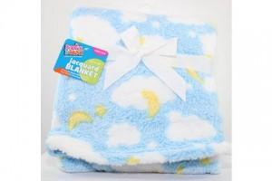 Babies 2 Grow Jacquard Baby Blanket 30X30 # CM 21254