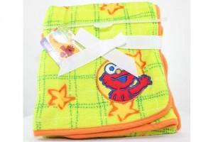 Sesame Street Baby Fleece Blanket 30inX30in# SB 71274