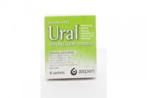 Ural Effervescent 8 X4g Powder Sachets